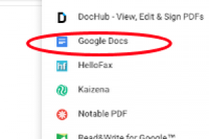 Convert PDFs to Google Docs to Differentiate Instructional Materials – From Brenda Doucette