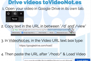 Now Take Notes on Drive Videos with VideoNot.es – From Beth Holland