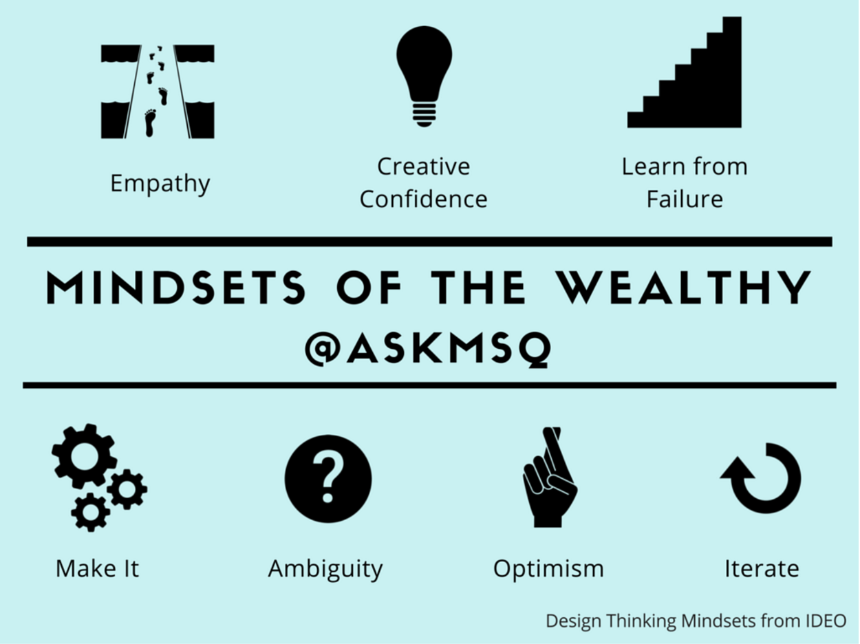 Use Design Thinking To Develop The 7 Mindsets Of The Mentally Wealthy