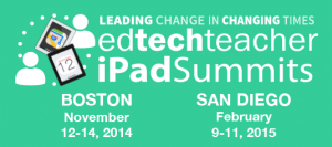 EdTechTeacher iPad Summits 2014 - 2015
