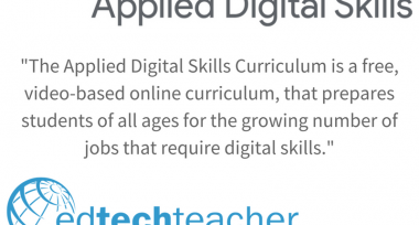 Get Started with Google's Applied Digital Skills Curriculum!